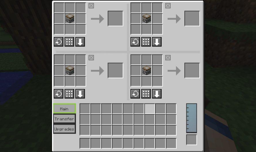Crafting Tweaks 1.12 y 1.12.2