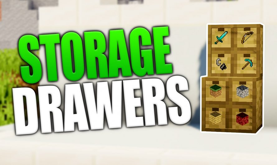 Storage Drawers 1.16.1
