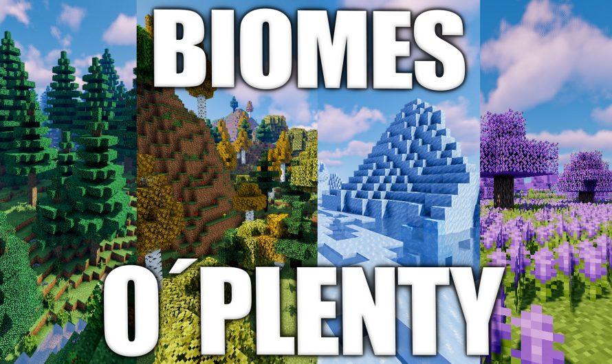 Biomes O'Plenty 1.16.1