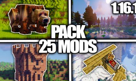 Pack de 25 Mods