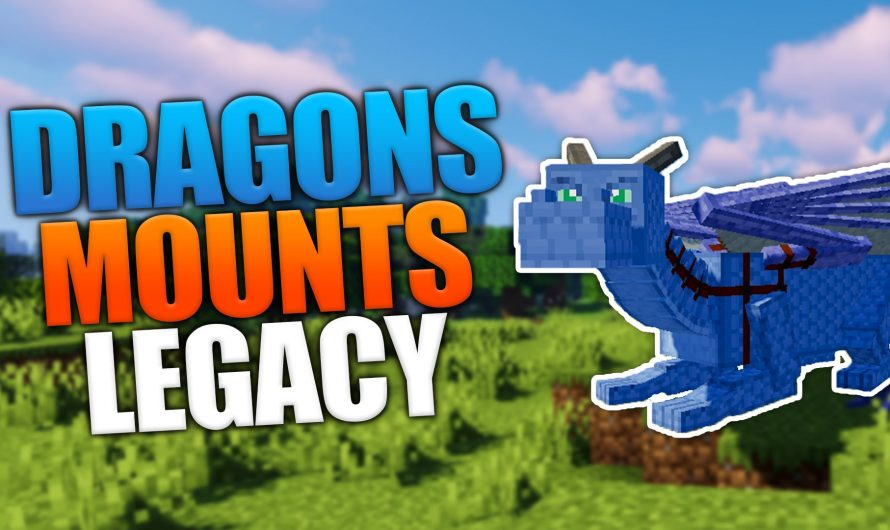 Dragon Mounts: Legacy 1.16.2