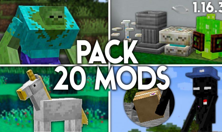 Pack de 20 Mods 1.16.3