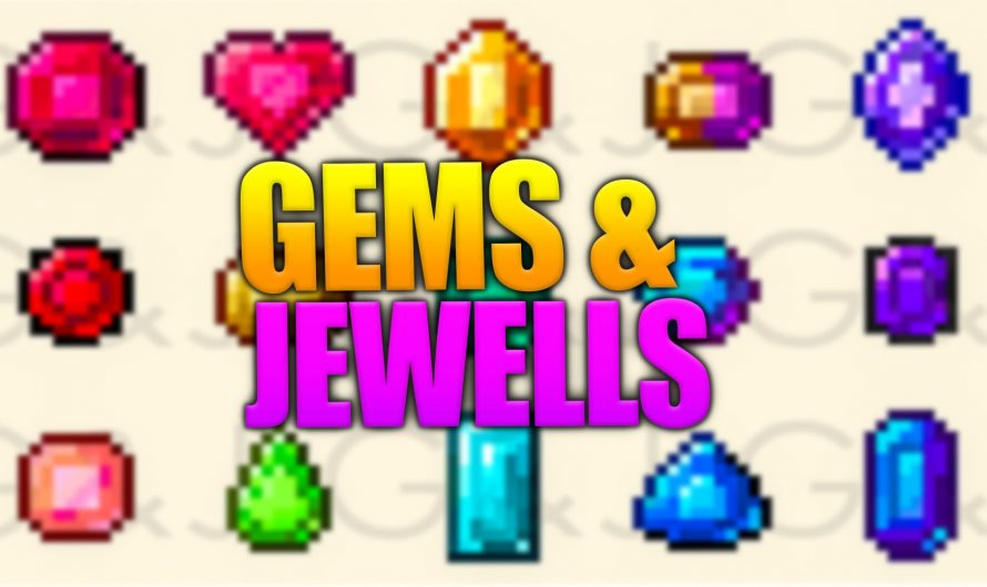 Gems & Jewels  1.16.4